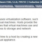 Updating a standalone ESXi 5.1 host
