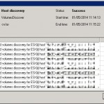 Veeam Backup & Replication job failed with warning - vmdk size changed
